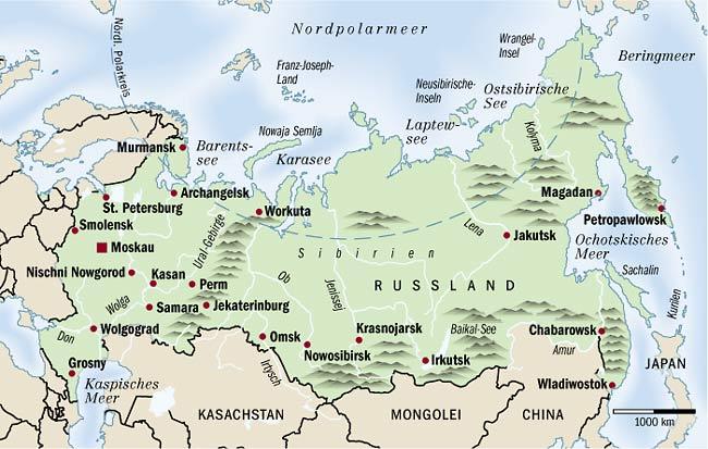Nordpolarmeer Karte.Russland Hauptstadt Karte